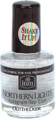 INM Northern Lights Hologram Top Coat (.5 oz)