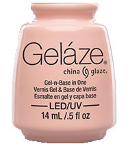 China Glaze Gelaze - Diva Bride