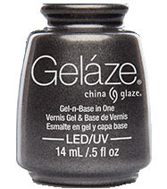 China Glaze Gelaze - Black Diamond