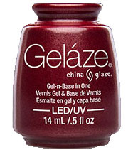China Glaze Gelaze - Long Kiss