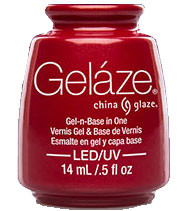 China Glaze Gelaze - Red Pearl
