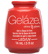 China Glaze Gelaze - Coral Star