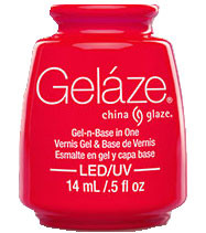 China Glaze Gelaze - Rose Among Thorns