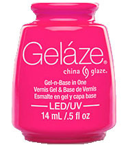 China Glaze Gelaze - Pink Voltage