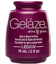 China Glaze Gelaze - Flying Dragon