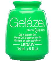 China Glaze Gelaze - In The Lime Light