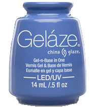 China Glaze Gelaze - Secret Peri-wink-le