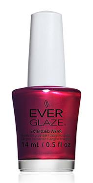 China Glaze Everglaze Taken for Pomegranate 82344 Nail Polish Red Orange