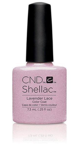 Cnd Shellac Lavender Lace 91178 Creative Nail Design Gel Polish