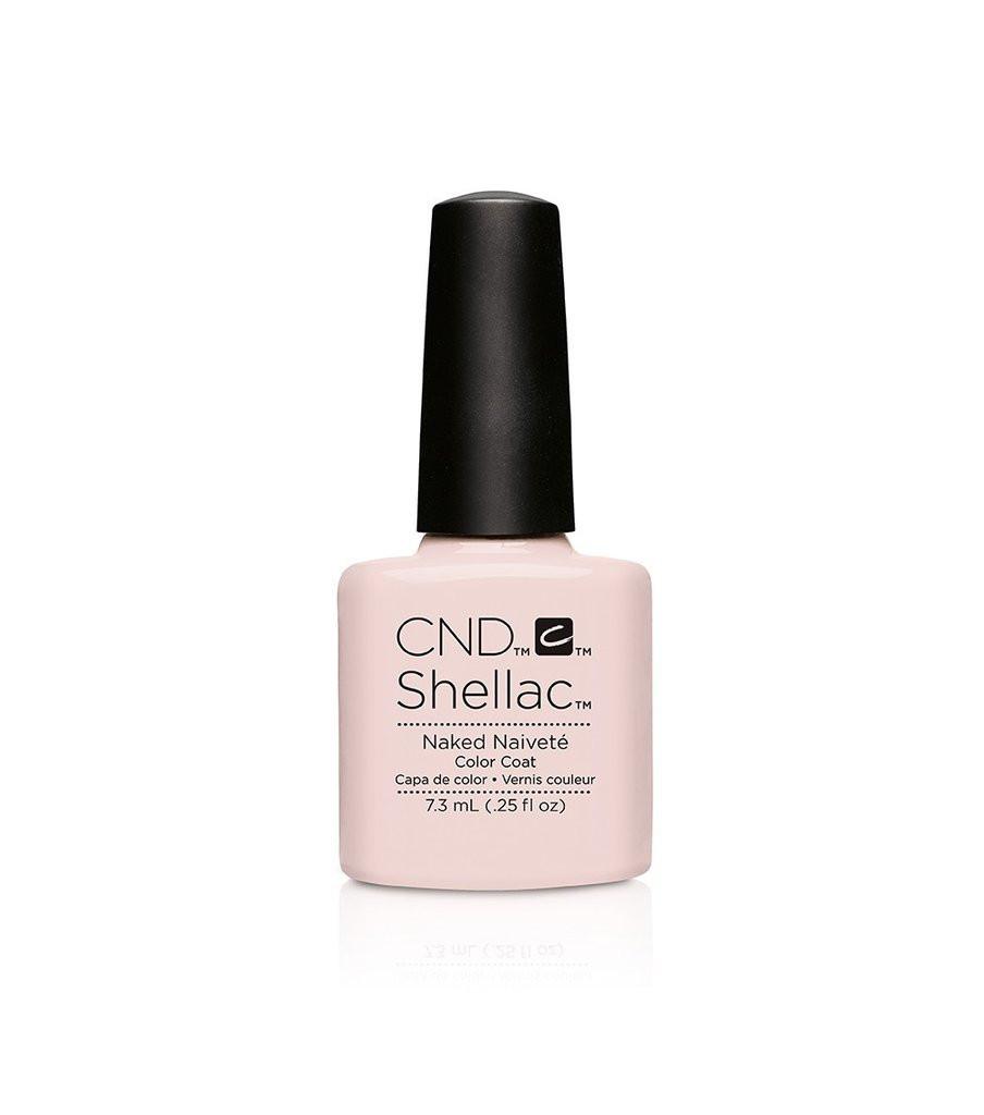 Cnd Shellac Naked Naivete 90857 Creative Nail Design Light Pink