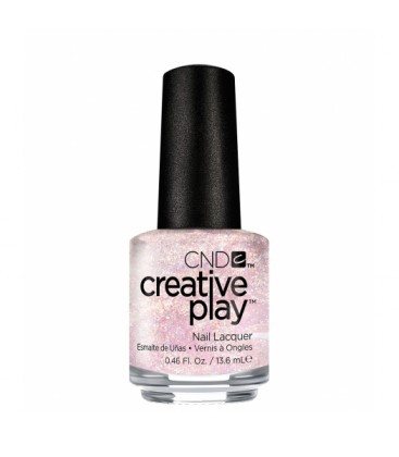 CND Creative Play Tutu Be or Not to Be 477 Nail Polish Pink Glitter