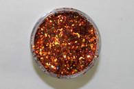 Starlight Nail Art Glitter - 99 Orange Diamonds (2 oz.)