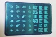 Starlight Nail Transfer Plate - CK18