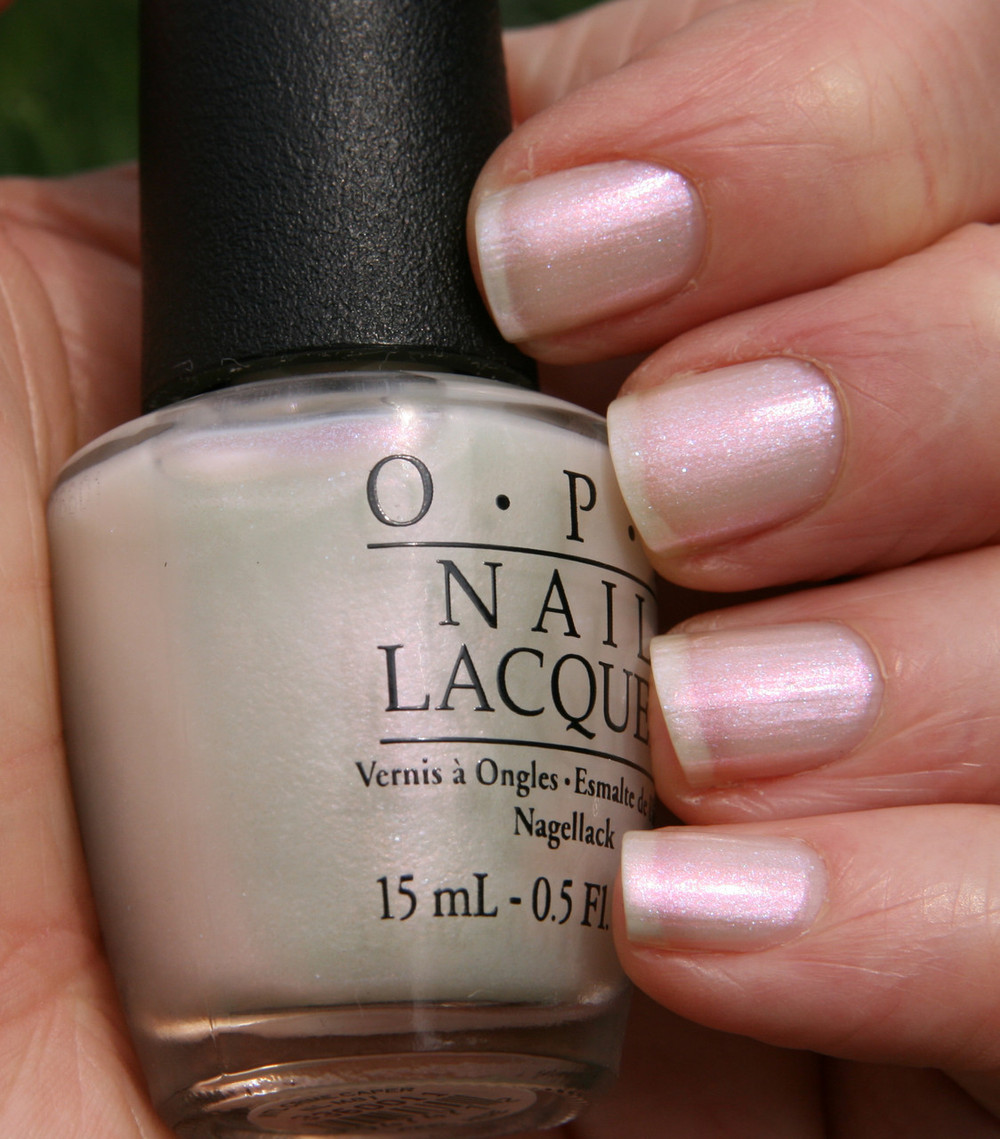 OPI Int\'l Crime Caper M81 Nail Polish Pink Clear Muppets