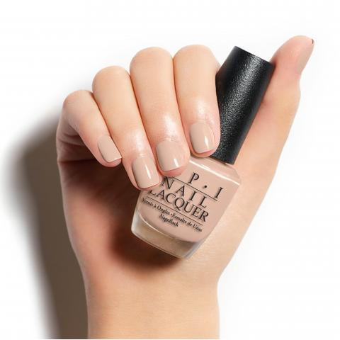 OPI Pale to the Chief W57 Nail Polish Brown Nude Peach Pink Natural ...