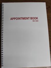 Starlight Appointment Books (Form No. 1204)