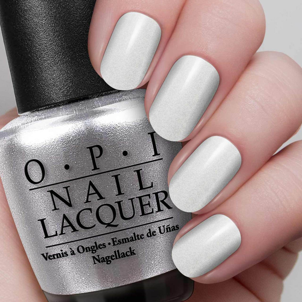OPI My Signature is DC C16 Nail Polish Silver Gray Coca Cola Collection
