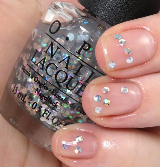 OPI I Snow You Love Me E16 Nail Polish Clear Glitter Mariah Carey ...