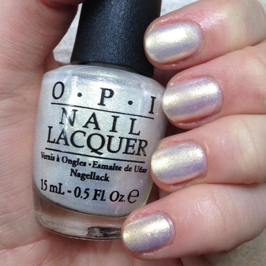 OPI Ski Slope Sweetie E15 Nail Polish Silver Pearl Mariah Carey ...
