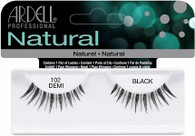 Ardell Eyelashes - Natural Demi Black 102 (65083)