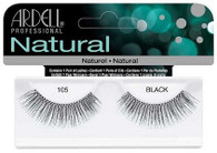 Ardell Eyelashes - Natural Black 105 (65002)