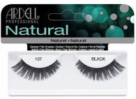 Ardell Eyelashes - Natural Black 107 (65087)