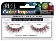 Ardell Eyelashes - Natural Color Impact Demi Wispies Wine Enhances Blue & Green (61477)