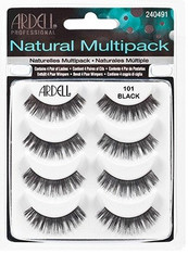 Ardell Eyelashes - Natural Multi-pack 101 Black (61406)