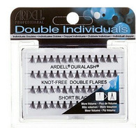 Ardell Eyelashes - Natural Duralash Knot Free Double Flares Short Black (61484)