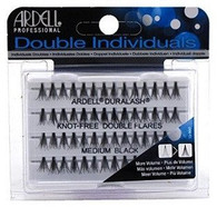 Ardell Eyelashes - Natural Duralash Knot Free Double Flares Medium Black (61485)