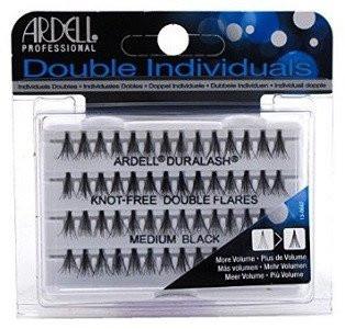 b07c3293f50 ... Ardell Eyelashes - Natural Duralash Knot Free Double Flares Medium Black  (61485). Image 1