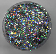 Starlight Nail Art Glitter - 41 Rainbow Diamonds (2 oz.)