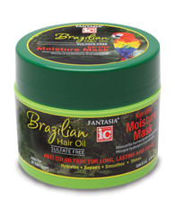 Fantasia Brazilian Hair Oil - Keratin Moisture Mask (8 oz.)