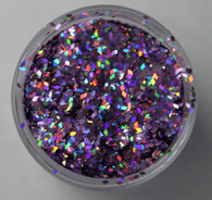 Starlight Nail Art Glitter - 97 Purple Diamonds (2 oz.)