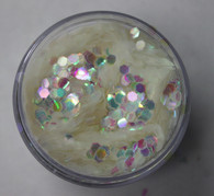 Starlight Nail Art Glitter - 3 Iridescent Octagons (2 oz.)