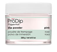 Super Nail Pro Dip Powder - Pink 8 oz. (Acrylic Dipping System)