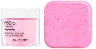 Super Nail Pro Dip Powder - Pink Sprinkles  .9 oz. (Acrylic Dipping System)