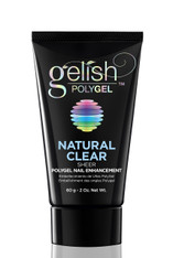Harmony Gelish Polygel - Natural Clear 2 oz.