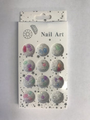 Starlight Nail Art - Color Half Balls A