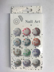Starlight Nail Art - Color Half Balls B