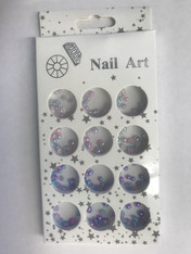 Starlight Nail Art - Color Half Balls C