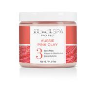 IBD Spa Pro Pedi - Aussie Pink Clay (Detox Mask) 14oz