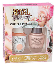 Harmony Gelish Two of a Kind Royal Temptations - Curls & Pearls
