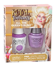 Harmony Gelish Two of a Kind Royal Temptations - All the Queen's Bling
