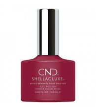 CND Shellace Luxe - Rouge Rite #197 (.42 oz.)