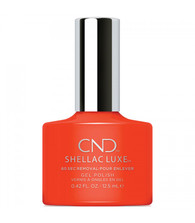 CND Shellace Luxe - Electric Orange #112 (.42 oz.)