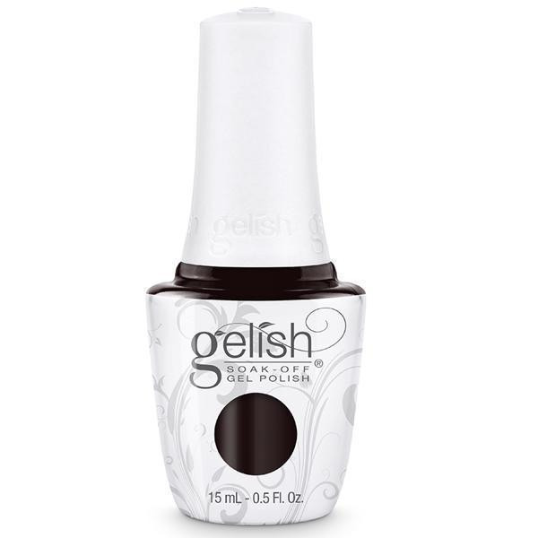 Harmony Nails Gelish Batting My Lashes 1110327 Gel Polish Red Brown