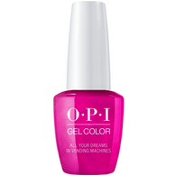 OPI Gelcolor - All Your Dreams in Vending Machines (GC T84)