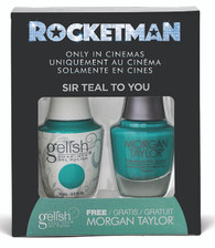 Harmony Gelish Two of a Kind - Sir Teal to You (Rocketman Collection)