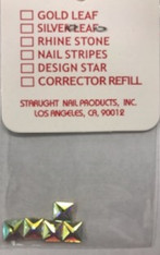 Starlight Nail Art - Square Crystals AB Rhinestones